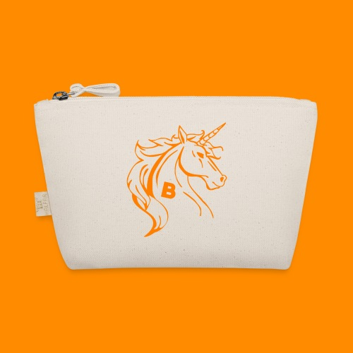 orange biodusty unicorn shirt - Tasje
