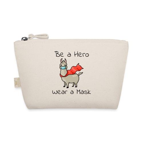 Sei ein Held, trag eine Maske! - Täschchen