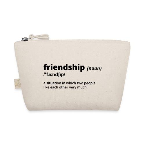 Friendship - Shirt (100% bio und fairtrade) - Täschchen