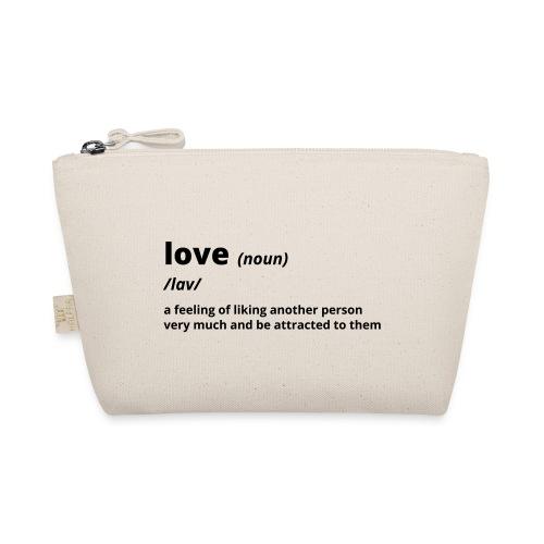 Love - Shirt (100% bio und fairtrade) - Täschchen