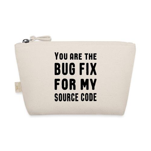 Programmierer Beziehung Liebe Source Code Spruch - Täschchen