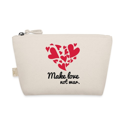 Make Love Not War T-Shirt - The Wee Pouch