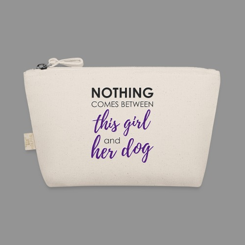 Nothing comes between this girl her and her dog - The Wee Pouch