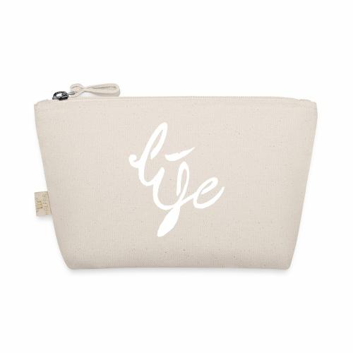 Life Logo simple white - Trousse