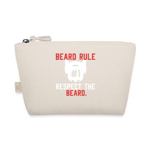 BEARD RULE 1 RESPECT THE RULE - Bart-Regel #1 - Täschchen