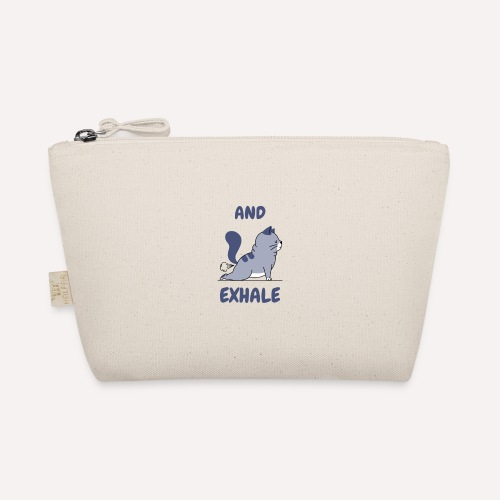 Yoga Exhale Yoga Pose Print Design - The Wee Pouch