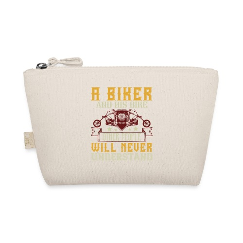 A biker and his bike. - The Wee Pouch