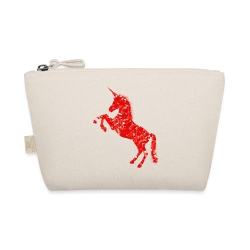 unicorn red - Kosmetyczka