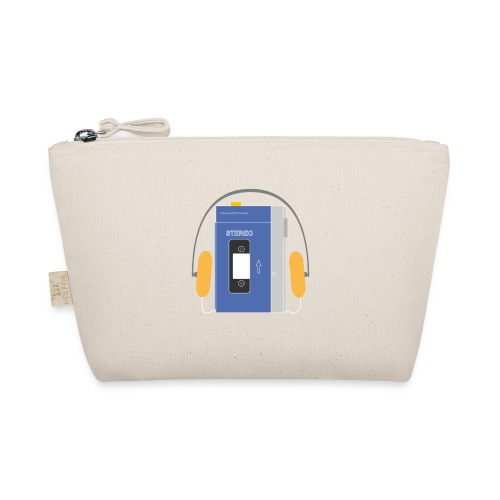 Stereo walkman in blue - The Wee Pouch