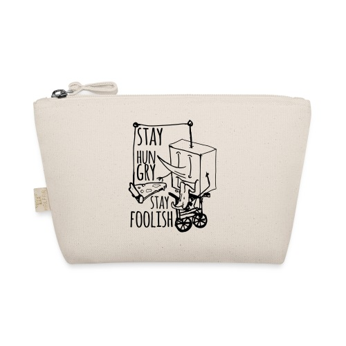 stay hungry stay foolish - The Wee Pouch