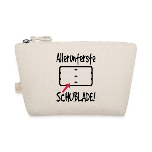 Unterste Schublade Büro Bürohumor Kollegen Spruch - Täschchen