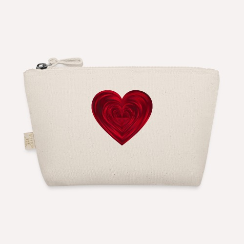 Love Heart Print T-shirt design - The Wee Pouch