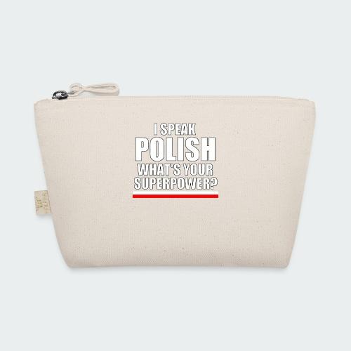 Męska Koszulka Premium I SPEAK POLISH - Kosmetyczka