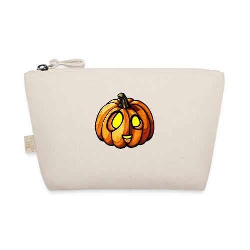 Pumpkin Halloween watercolor scribblesirii - Pikkulaukku