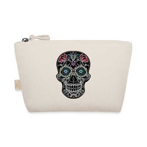 Floral Skull - The Wee Pouch