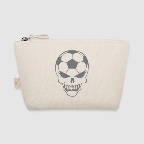 Fußball-Totenkopf - Täschchen