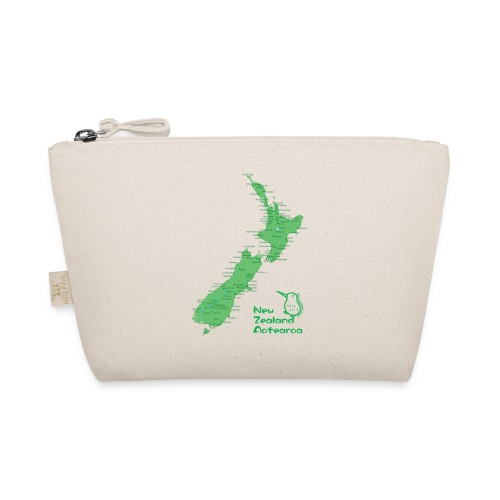 New Zealand's Map - The Wee Pouch