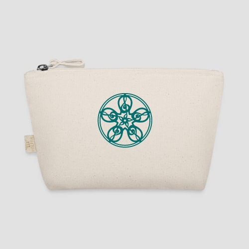 Treble Clef Mandala (teal) - The Wee Pouch