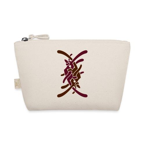 Stort logo på ryg - Små stofpunge