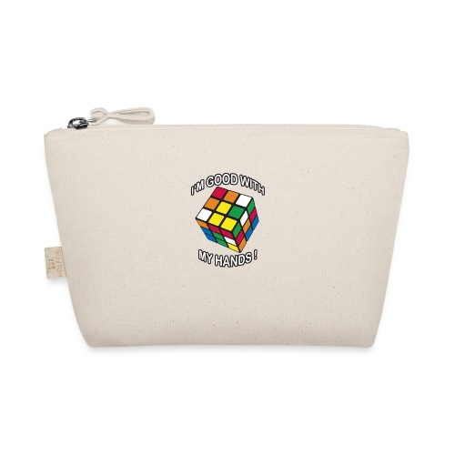 Rubik's Cube Quotes I'm Good With My Hands - The Wee Pouch