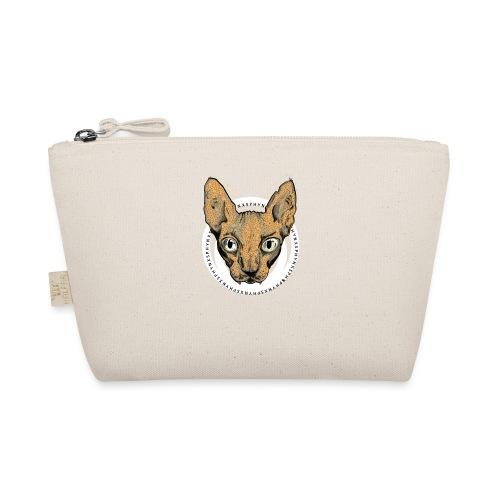 sphynx white bg - Liten väska