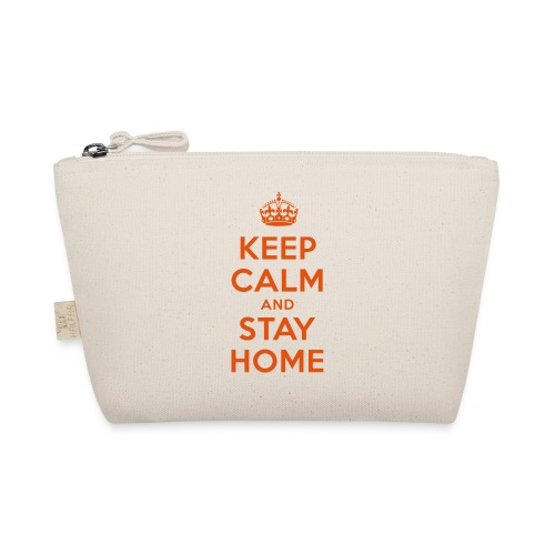 KEEP CALM and STAY HOME - Täschchen