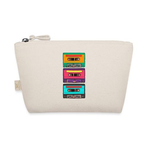 Colorful Cassettes row - Liten väska