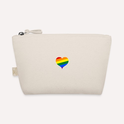 LBGT Q Colorful Love Heart Pride Symbol - The Wee Pouch