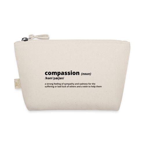 Compassion - Shirt (100% bio und fairtrade) - Täschchen