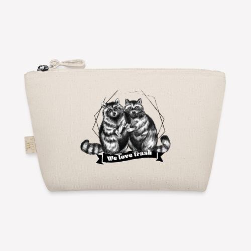 Raccoon – We love trash - Täschchen