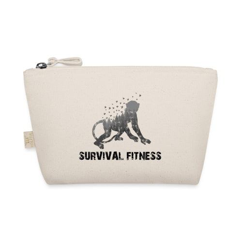 Survival Fitness Logo Schwarz - Täschchen