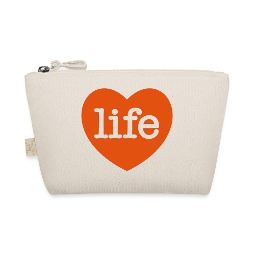 LOVE LIFE heart - The Wee Pouch