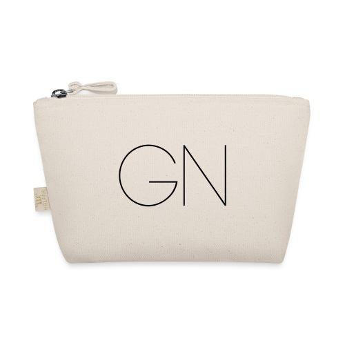 Långärmad tröja GN slim text - Liten väska
