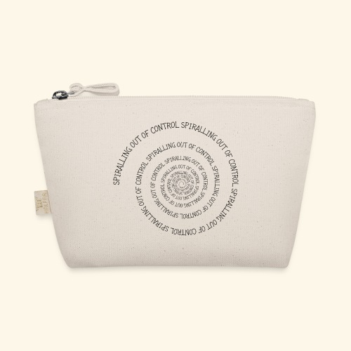 SPIRAL TEXT LOGO BLACK IMPRINT - The Wee Pouch