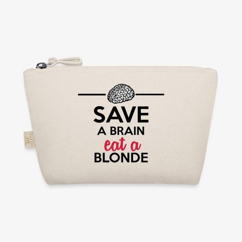 Gebildet - Save a Brain eat a Blond - Täschchen