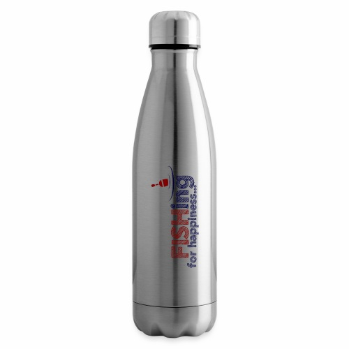 Fishing For Happiness - Insulated Water Bottle