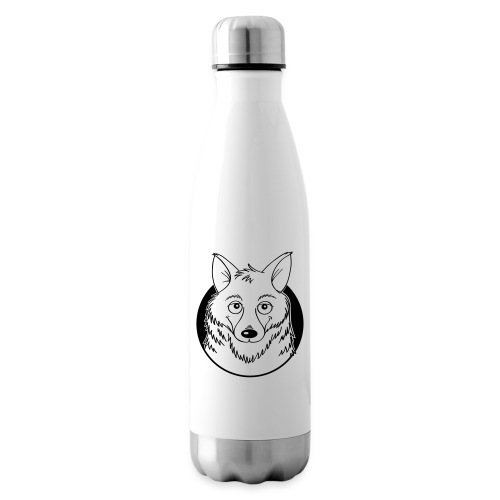 warmherziger Wolf - Isolierflasche