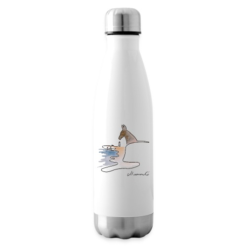 Blåvand 1 med logo - Termoflaske