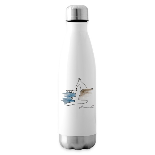 Blåvand 2 med logo - Termoflaske