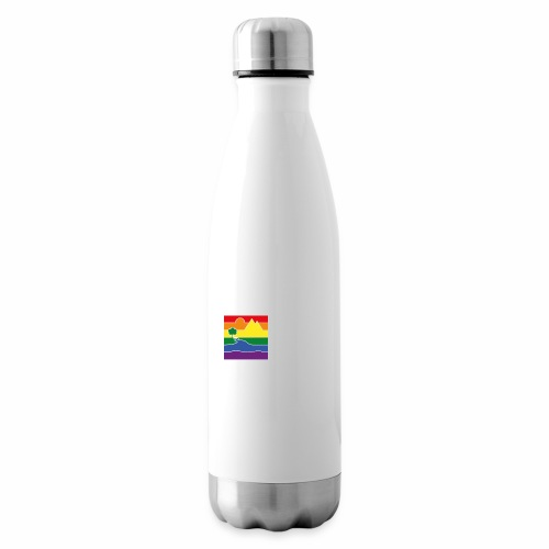 GOC Logo White Text - Insulated Water Bottle