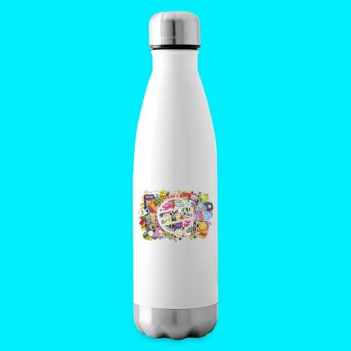 maglia logo doodle - Termica Bottiglia