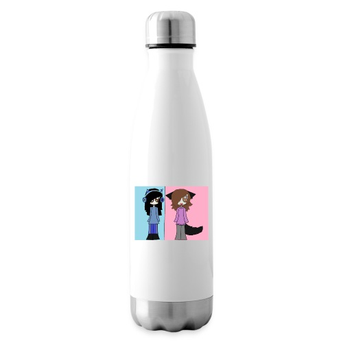 me and ash - Insulated Water Bottle