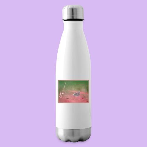 Farfalla nella pioggia leggera - Termica Bottiglia