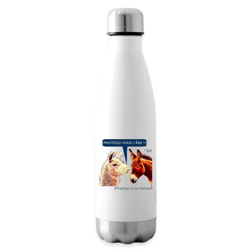 PROTEGEZ-VOUS L'ÂNE !! - Coronavirus - Insulated Water Bottle