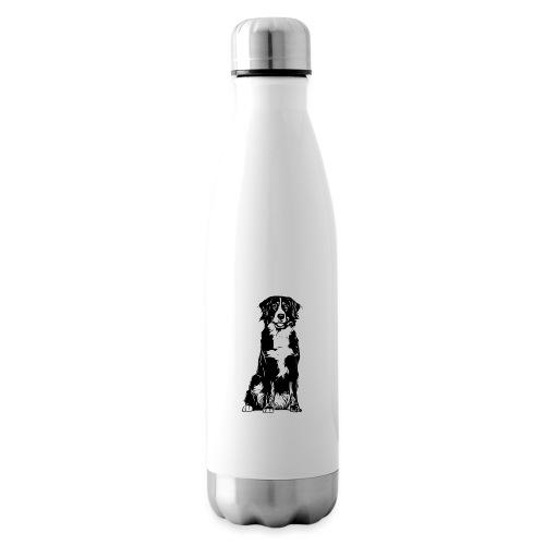 Berner Sennenhund Hunde Design Geschenkidee - Isolierflasche