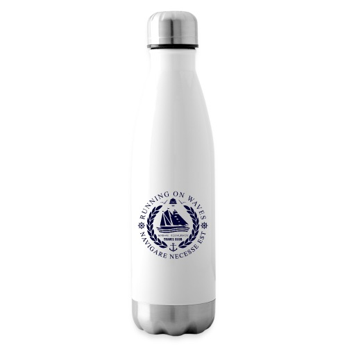 RUNNING ON WAVES - Insulated Water Bottle