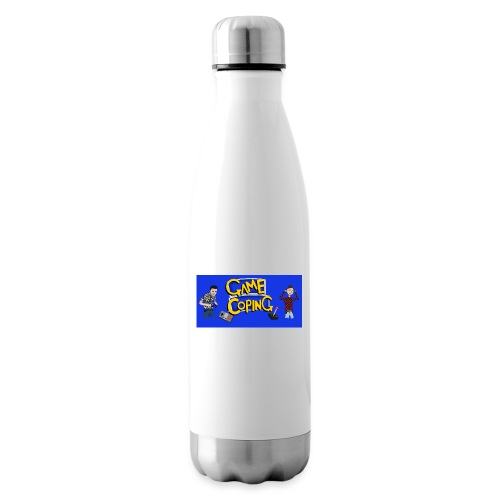 Game Coping Angry Banner - Insulated Water Bottle