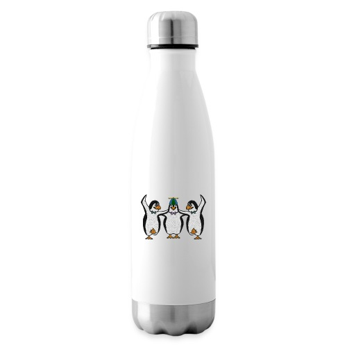 Penguin Trio - Insulated Water Bottle