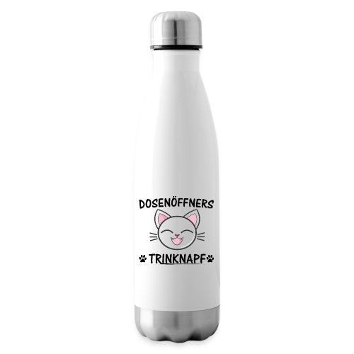 Dosenöffners Trinknapf Katze Geschenk - Isolierflasche