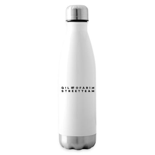 StreetTeamSchriftzug GO FINAL NEU SCHWARZ - Isolierflasche